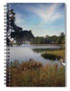 Wetlands - Oil Painting Effect Spiral Notebook
