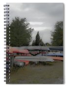 What Do Canoes Dream Of Spiral Notebook