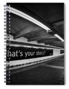 What's Your Story Spiral Notebook