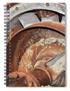 Wheel And Axle Spiral Notebook