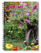 Wheel Of Color Spiral Notebook