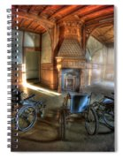 Wheel Up The Four Spiral Notebook