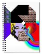 Wheelbarrow Spiral Notebook