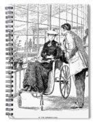 Wheelchair, 1886 Spiral Notebook