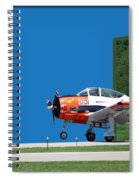 Wheels Up Spiral Notebook
