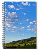When Clouds Meet Mountains 2 Spiral Notebook