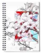 When The Almond Trees Are In Blossom  Spiral Notebook