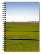 Where The Grass Is Growing Spiral Notebook