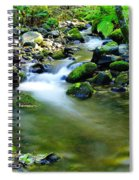 Where The Simple Water Runs  Spiral Notebook