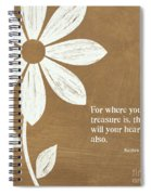 Where Your Heart Is Spiral Notebook