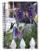 Whimsical Window Spiral Notebook
