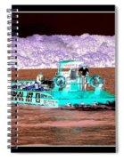 Whirlpool Jet Boat Niagara Falls Inverted Spiral Notebook