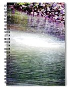 Whirlpool Of Water Suds Spiral Notebook