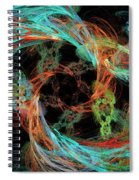 Whirly Gig Spiral Notebook