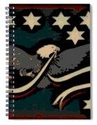 Whiskey Rebellion Flag Spiral Notebook