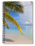 Whispering Palm On The Tropical Beach Spiral Notebook