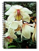 Whispers In The Greenhouse Spiral Notebook