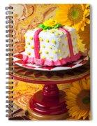 White Cake Spiral Notebook