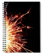 White Center Spiral Notebook