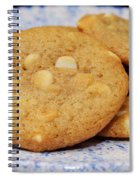 White Chocolate Chip Cookies Spiral Notebook