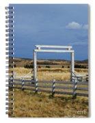 White Gateway Spiral Notebook