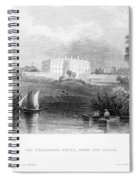 White House, 1839 Spiral Notebook