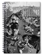 White House: Easter, 1887 Spiral Notebook