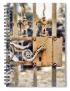 White Iron Gate Details Spiral Notebook