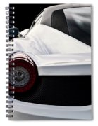 White Italia Spiral Notebook