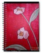 White Lotus Top Spiral Notebook
