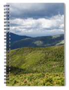 White Mountains New Hampshire Panorama Spiral Notebook