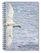 White Nelly Spiral Notebook