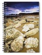 White Park Bay, County Antrim, Ireland Spiral Notebook