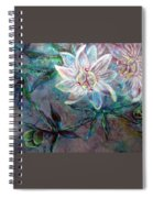 White Passion Spiral Notebook