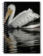 White Pelican De Spiral Notebook