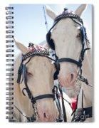 White Ponies Spiral Notebook