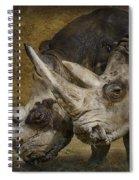 White Rhinos Spiral Notebook