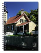 White River Light Spiral Notebook