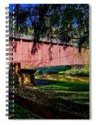 White Rock Bridge Spiral Notebook
