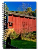 White Rock Forge Covered Bridge Spiral Notebook