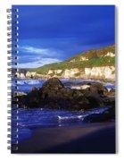 White Rocks Strand, County Antrim Spiral Notebook