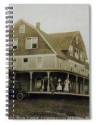 White Roe Boarding House-owner E Keene Prior To My Grandfather. Circ 1900s Spiral Notebook