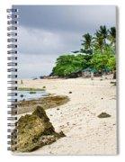 White Sand Beach Moal Boel Philippines Spiral Notebook
