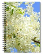 White Shower Tree Spiral Notebook