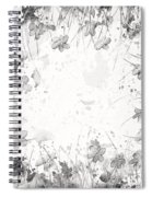 White Space Spiral Notebook