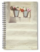 White Steps Spiral Notebook