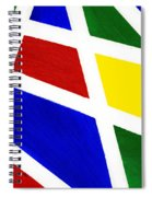 White Stripes 2 Spiral Notebook