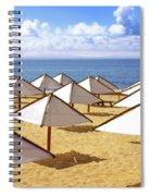 White Sunshades Spiral Notebook