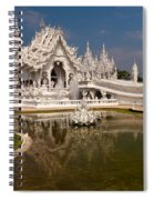 White Temple Spiral Notebook