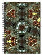 White Tiger Carousel Spiral Notebook